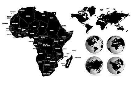 World map Stock Vector - 13027921
