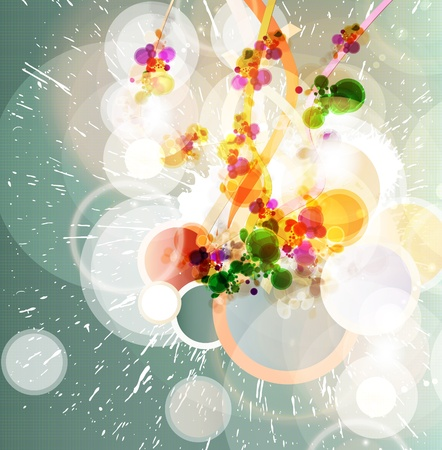 fading: Abstract background Illustration