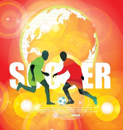 Soccer poster Stock Vector - 13064597