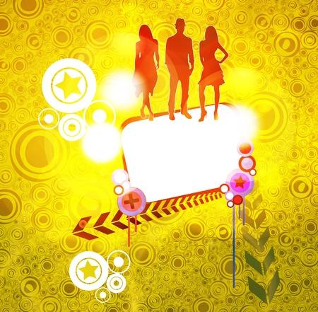 Dancing poster Vector