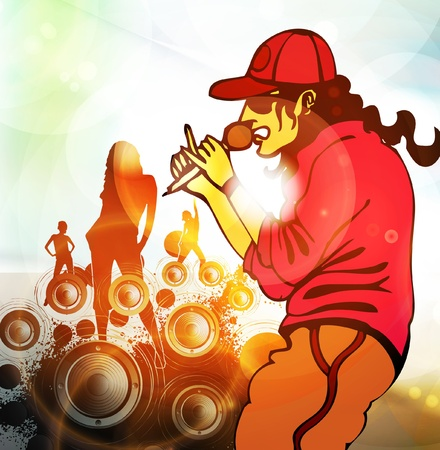 Music background illustration Vector
