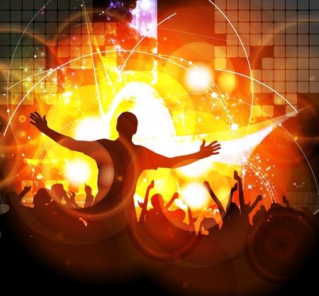 party dj: Des gens qui dansent