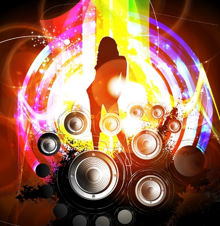 Music background Stock Vector - 13155575