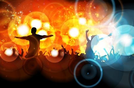 Dancing people Stock Vector - 13155582