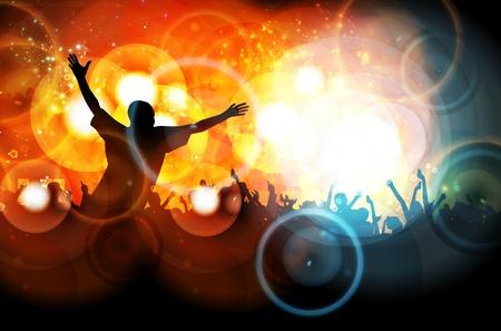 Dancing people Stock Vector - 13155581