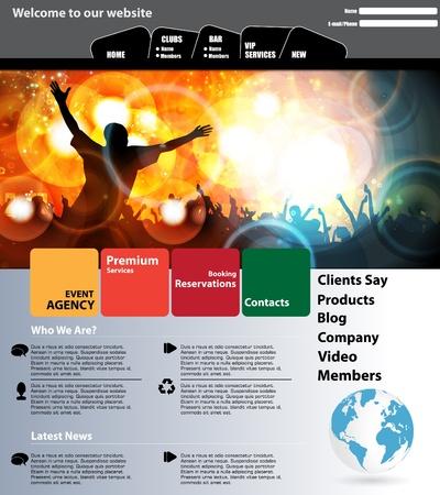 Web design template Stock Vector - 13207738