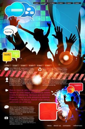 Web layout del sito