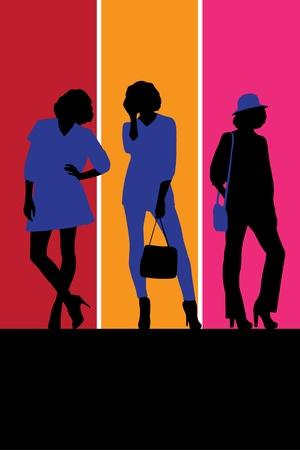 leggy: Fashion illustration Illustration
