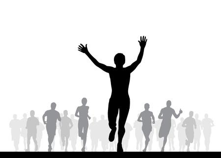 healthy lifestyle: Winner Illustration