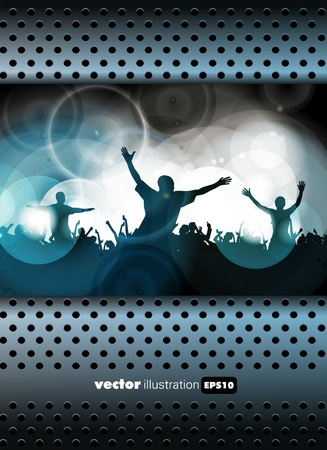 Music event background  Vector eps10 illustration   Vector
