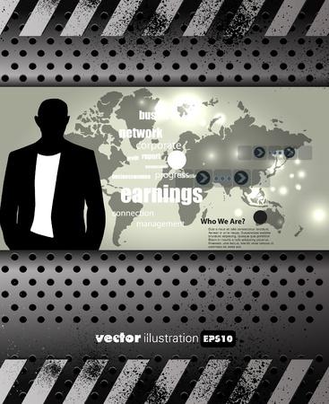Business illustration Stock Vector - 13467446