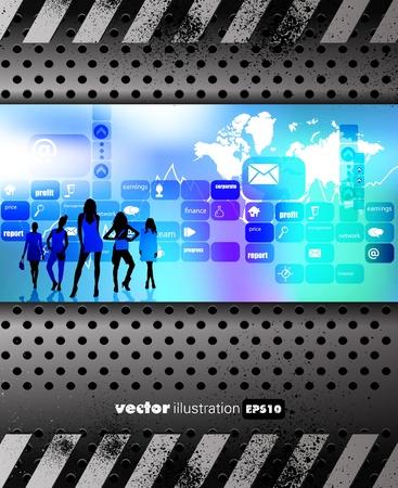 Business illustration Stock Vector - 13467445
