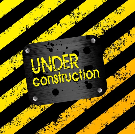 Under construction background Vector