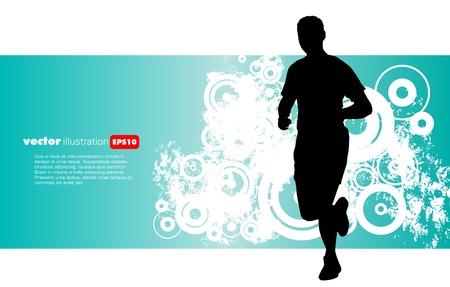 Sport vector illustration Stock Vector - 13531056