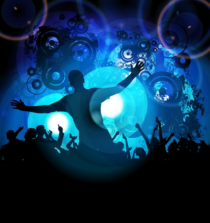 Music event background  Vector eps10 illustration Stock Vector - 13584862