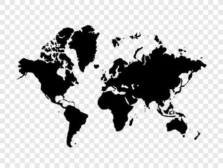 World map  Stock Vector - 13585216
