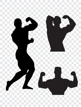 bodybuilding: Bodybuilding  Vector illustration