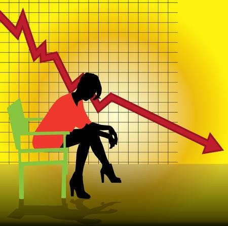 Economic crisis Stock Vector - 13748897