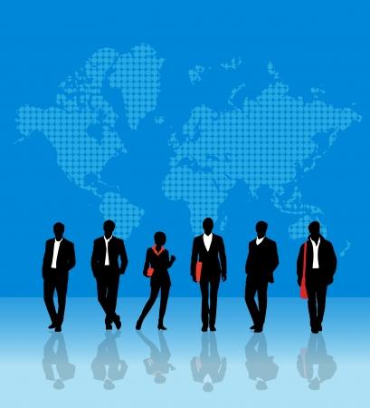 World team Stock Vector - 13657515