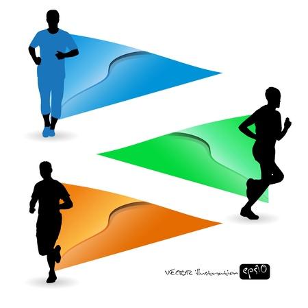 Sport vector illustration Stock Vector - 13748737