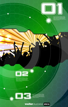 Vector party background Vector