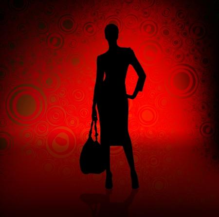 leggy: Fashion girl