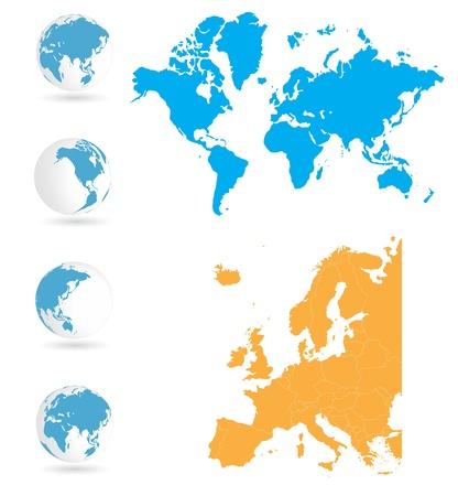 World map Stock Vector - 14014944