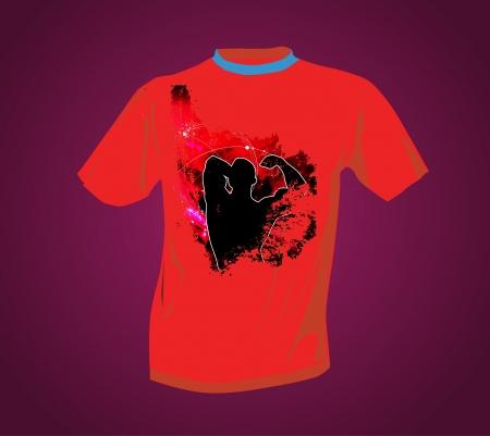 T-shirt Stock Vector - 14017788
