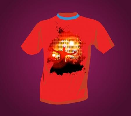 T-shirt Stock Vector - 14017787
