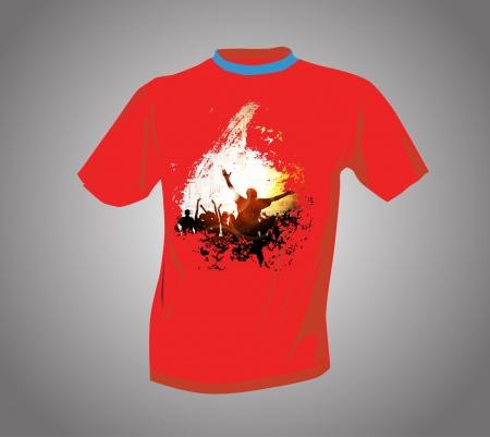 T-shirt  Stock Vector - 14017776