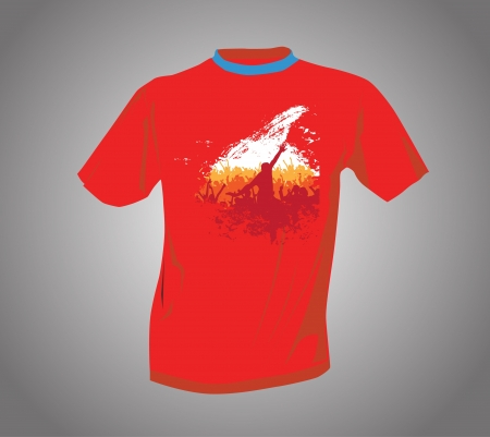 T-shirt  Stock Vector - 14017854