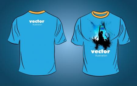 T-shirt Stock Vector - 14017856
