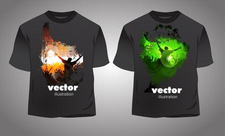 T-shirt Stock Vector - 14017860