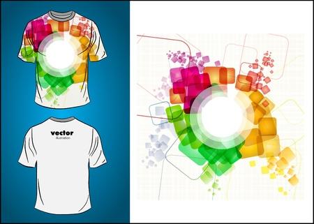 t square: T-shirt design