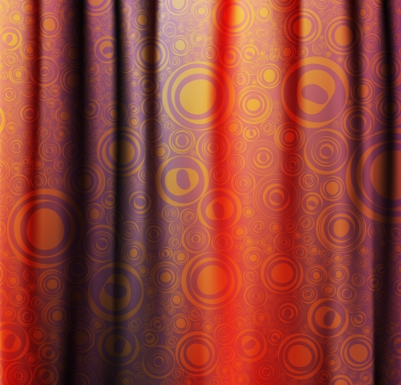 Curtain Stock Vector - 14076847