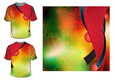 T-shirt design Stock Vector - 14109216