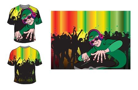raglan: T-shirt design