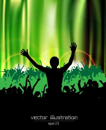 Music illustration Stock Vector - 14109253