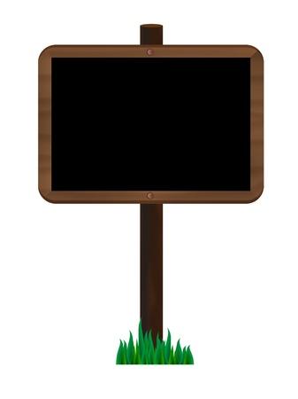 Wooden signpost Stock Vector - 14109282
