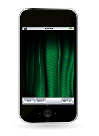 Smart phone Stock Vector - 14378937
