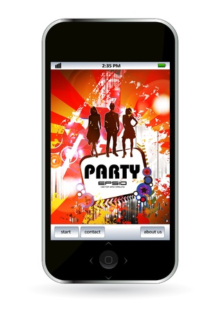 Smart phone Stock Vector - 14378938