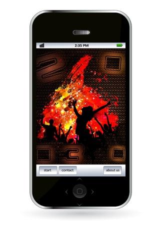 Smart phone Stock Vector - 14256930