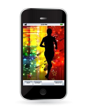 Smart phone Stock Vector - 14256940