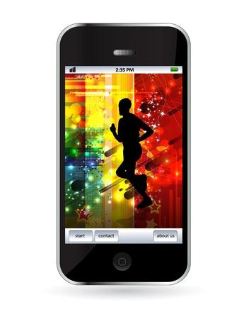 Smart phone Stock Vector - 14256949