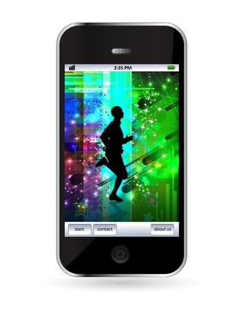 Smart phone Stock Vector - 14256948