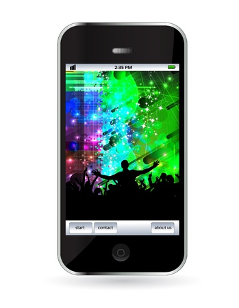 Smart phone Stock Vector - 14256953