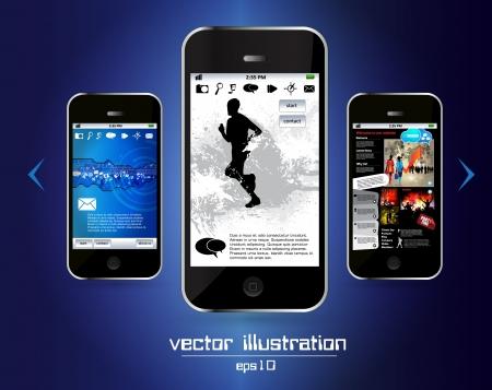Smart phone Stock Vector - 14256959
