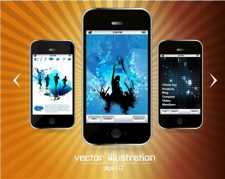 Smart phone Stock Vector - 14256958