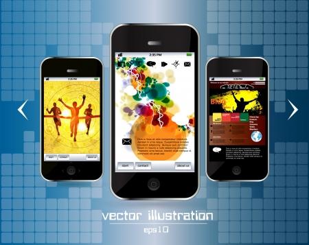 Smart phone Stock Vector - 14256960