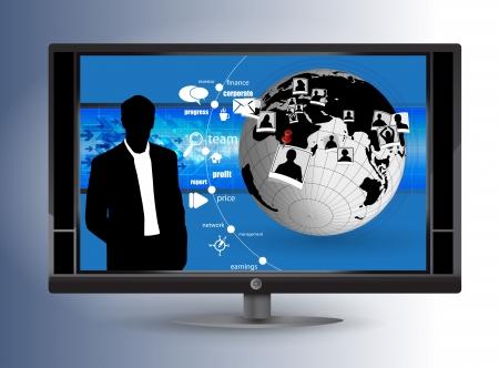 Business news Stock Vector - 14239630